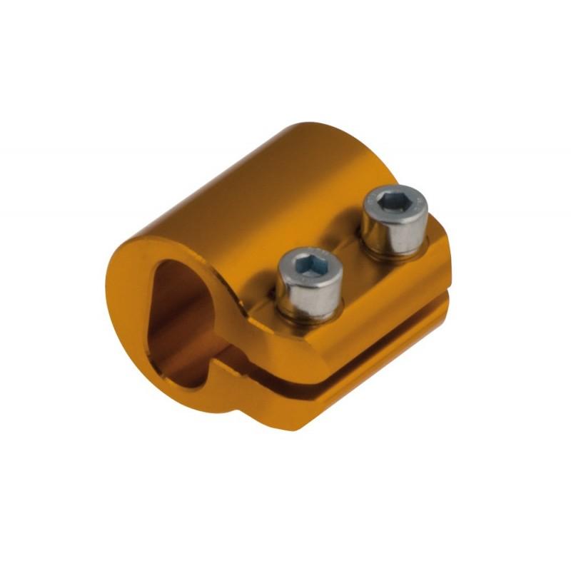 Fascetta ovale AL Ø 30 mm Sinistra