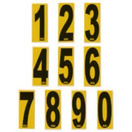 Numero  Adesivo