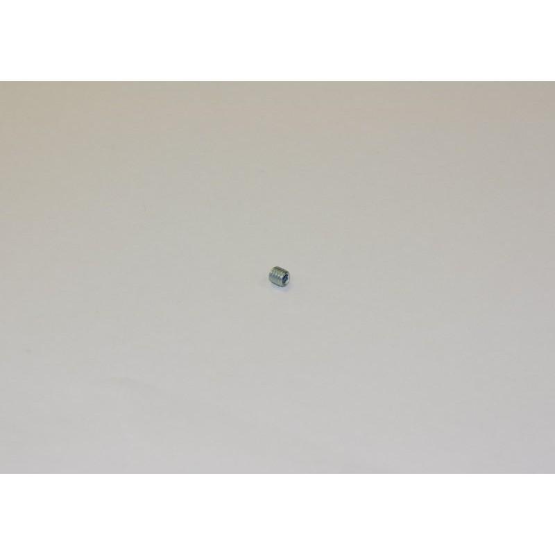 Grano M4 x 4 punta piana 10 pcs