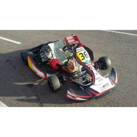 KART CHASIS KZ CRG + MOTOR MAXTER