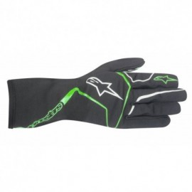 TECH-1 K RACE GUANTES-ANTRACITA VERDE T. S