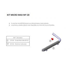 MICRO - Kit cambio escape...