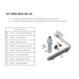 MINI – Kit cambio escape +...