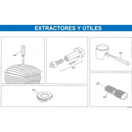 EXTRACTOR EMBRAGUE MINI X30