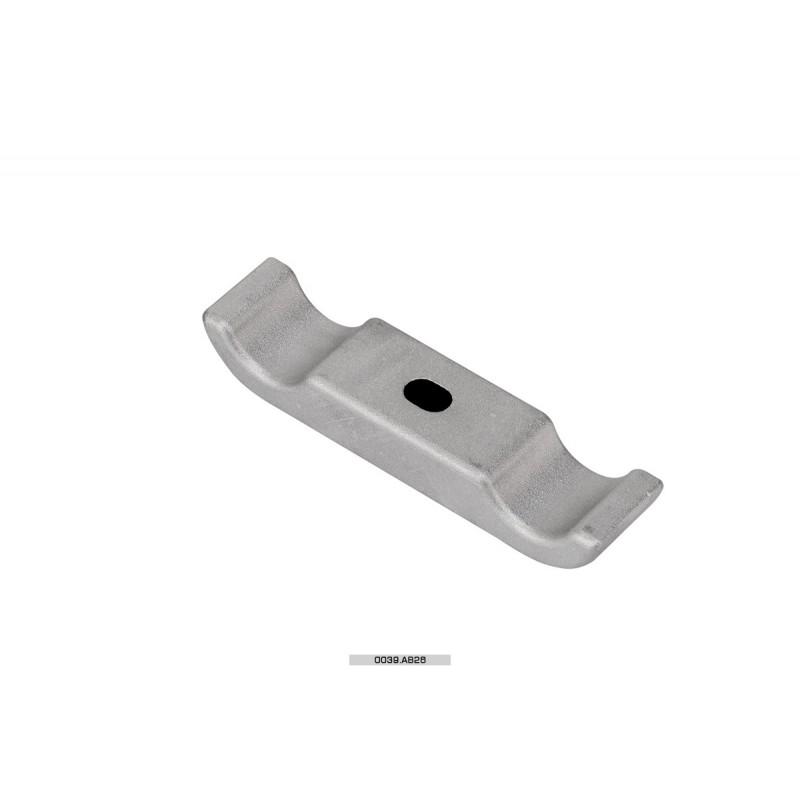 Cavallotto piastra motore AL 1 vite 28 mm Mini-Micro