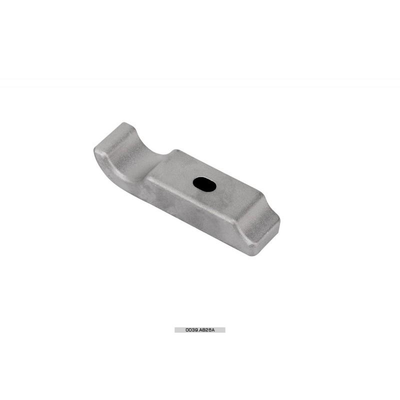 Cavallotto posteriore piastra motore AL 1 vite 28 mm Mini-Micro