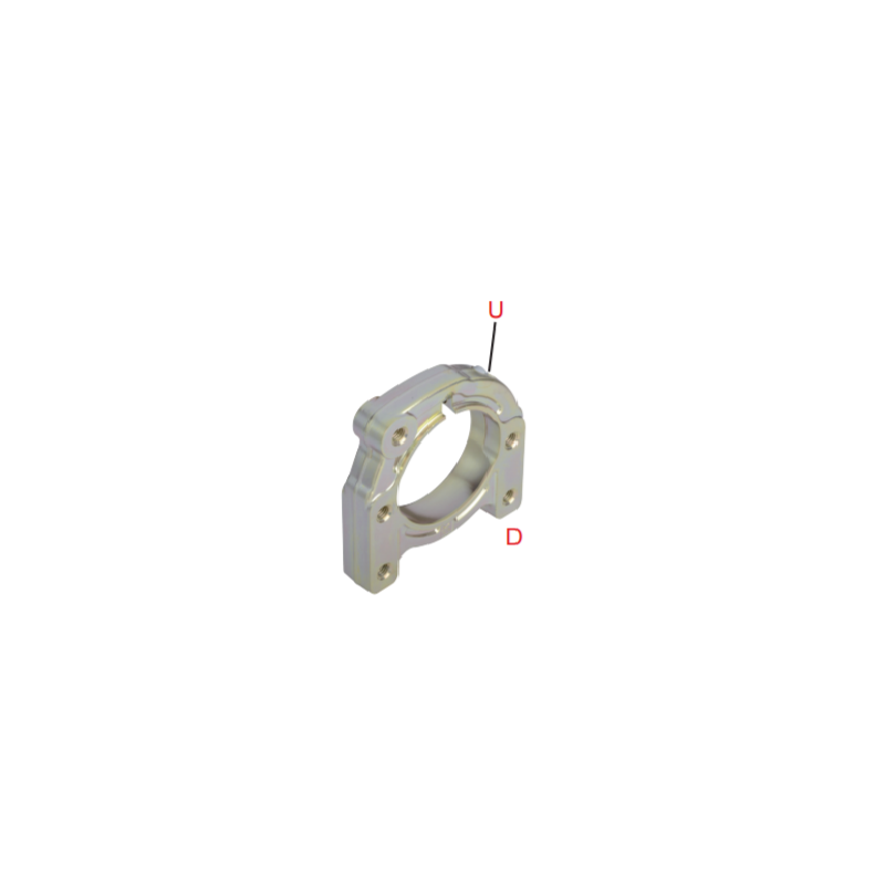 Supporto assale Ø 30 mm Neos