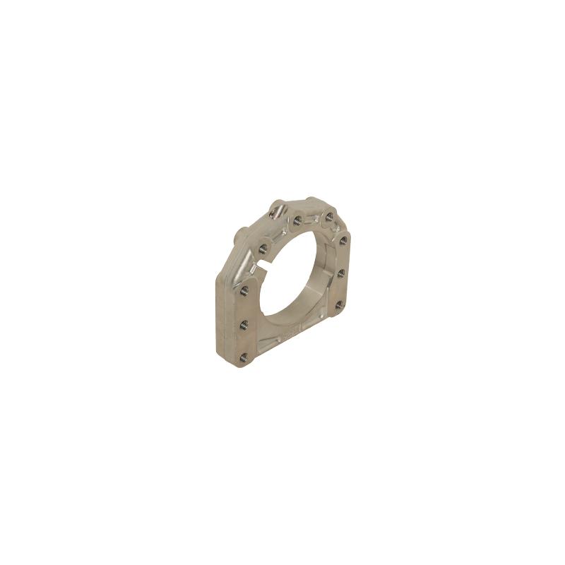 Supporto assale disassato 5 mm Ø 40 - 50 mm AL forgiato 3  posizioni  -  centrale / destro