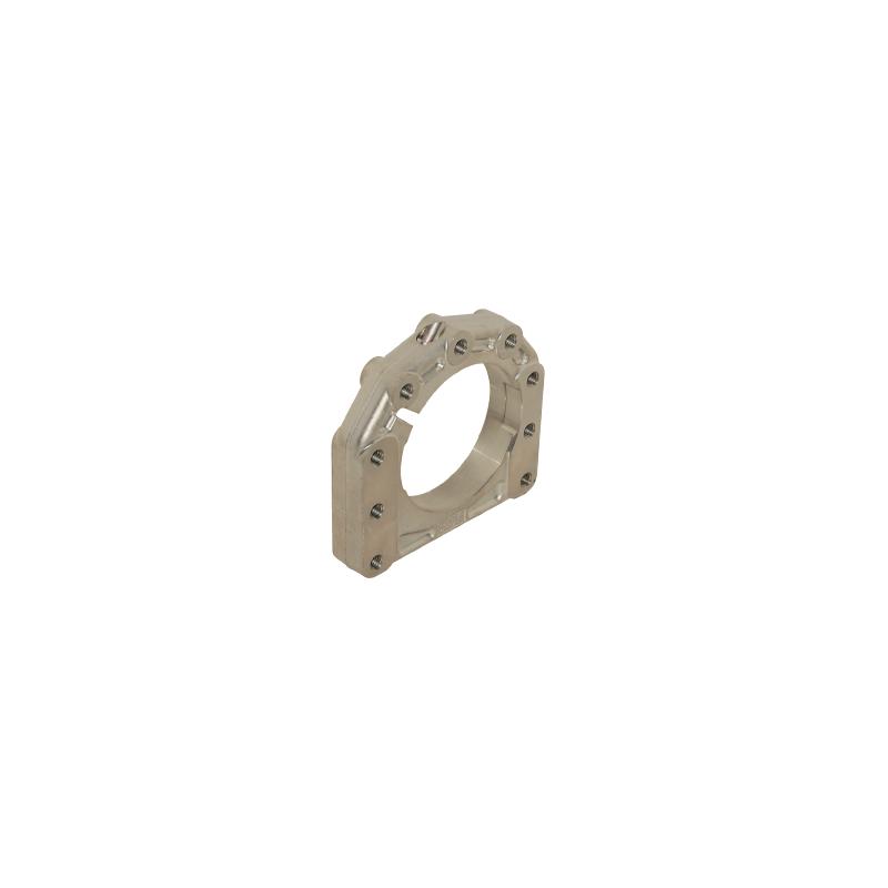 Supporto assale disassato 5 mm Ø 40 - 50 mm AL forgiato 3  posizioni  -  sinistro