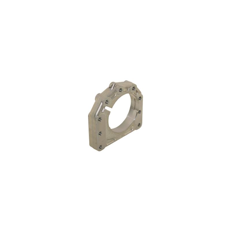 Supporto assale disassato 10 mm Ø 40 - 50 mm AL forgiato 3  posizioni  -  centrale / destro