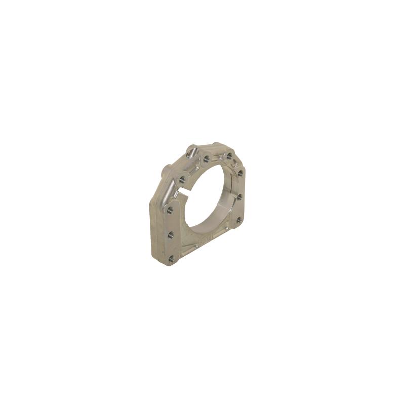 Supporto assale disassato 10 mm Ø 40 - 50 mm AL forgiato 3  posizioni  - sinistro
