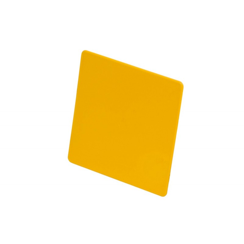 Tabella portanumero gialla
