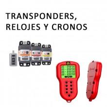 RELOJES, TRANSPONDERS, ALFANO Y PILAS