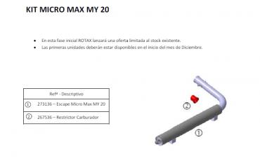Novedades Rotax Max 2020